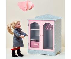 Olivias Little World TD-0210AG - Guardaroba con Appendini per Bambole
