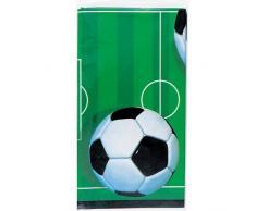 Unique Party 27303 - Tovaglia Plastificata Calcio, 213 cm x 137 cm