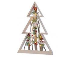Kaemingk Albero con LED A Batteria Natale Luci E Decorazioni, Multicolore, 8719152941018