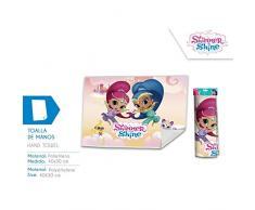Disney – Shimmer And Shine Asciugamano di Bagno, sh17015, 30 x 40