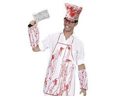Bristol novità DS202 chef set Sanguinosa grembiule, cappello e maniche, da uomo, taglia unica