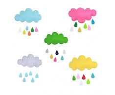 Matissa - Tenda da Gioco per Bambini Indiana Teepee e Accessori (Colore Grigio Nuvola)