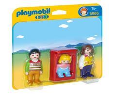 Playmobil 6966 - Genitori con Bimbo e Culla, Plastica