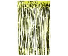 Amscan International 24200 – 53 91 cm x 2.43 m verde kiwi tenda della porta