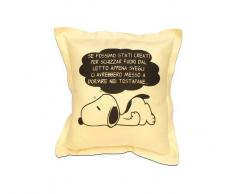 A Zig Zag Cuscino Arredo Snoopy