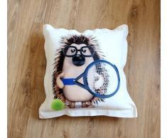 A Zig Zag Cuscino Arredo Riccio Tennis