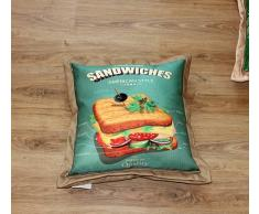 A Zig Zag Cuscino Arredo Sandwiches