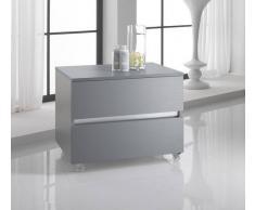 TFT Home Furniture Cassettiera Bali Twist Platino