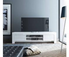 Flow Fusion Design Mobile Porta Tv Mara2 Bianco Laccato