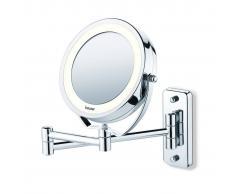 Beurer Specchio Cosmetico Illuminato BS59 Argento