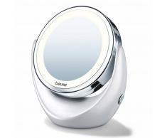 Beurer Specchio Cosmetico Illuminato BS49 Argento