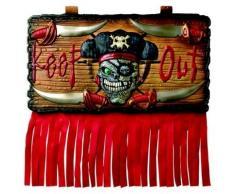 Decorazione per porta con pirata