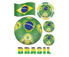 Adesivi per finestra bandiera del Brasile