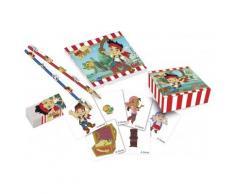 Kit da cancelleria per compleanno Jake e i Pirati