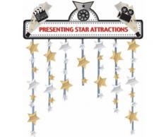 Decorazione per porta con stelle