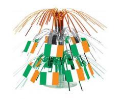 Centro tavola con bandiere irlandesi