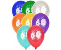 8 palloncini compleanno per i tuoi 60 anni