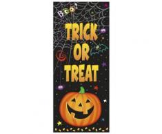 Decorazione per porta con zucca Halloween