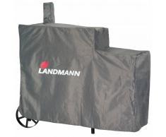Landmann Copertura Barbecue Premium XL 140x65x114 cm Grigio 15709