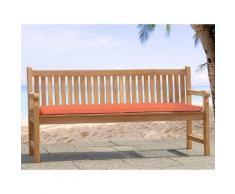 Cuscino da esterno - Per panchina Toscana - 160cm - 160x50x5cm - Color terracotta