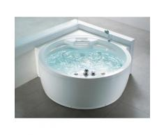 Vasca idromassaggio angolare da interno - Vasca spa tonda - MILANO