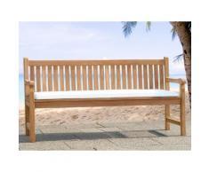 Cuscino da esterno - Per panchina da giardino - 169x50x5cm - Beige