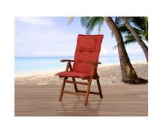 Cuscino da esterno - Per sedia Toscana - Color terracotta