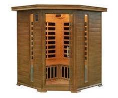 giordanoshop.com Sauna Angolare Ad Infrarossi A Carboni Per 4 Persone