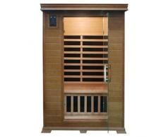 giordanoshop.com Sauna Ad Infrarossi A Pannelli A Carbone Per 2 Persone