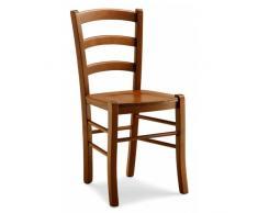 Sedia in legno da cucina OSTE - Arredinitaly