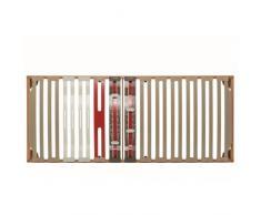 RETE ORTOPEDICA ADVANCE con doghe in legno sagomate con portanza differenziata con sospensioni in SEBS indeformabile