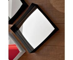Specchiera MARZIA moduli in metallo verniciato a polveri epossidiche con specchio supportato da pannello centrale in melamminico