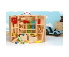Set in legno carpentiere giocattolo