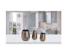 Dispenser per sapone, Bicchiere portaspazzolini, Portascopino per WC Marrakesh