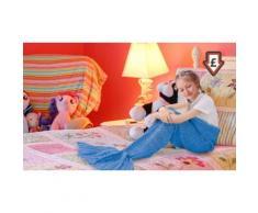 2x Coperta per bambini a sirena - Rosa caldo, blu