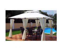 Gazebo con LED Swing&Harmonie: Crema