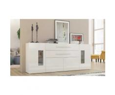 Credenza Daiquiri : Larghezza 200 cm / Bianco lucido - 490126