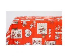 Centrotavola 90 x 90 cm Natale - Rossa