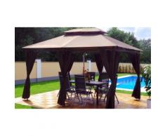Gazebo con LED Swing&Harmonie: Marrone
