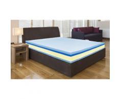 Materasso Memory Plus Top con 1 cuscino - Misura 90x190 cm