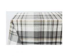 1x Centrotavola: 90 x 90 cm / Tartan grigio
