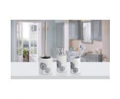 Dispenser sapone, portaspazzolini e portascopino: Astera