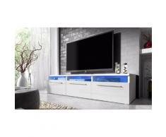 Mobile porta TV Lavello con LED - Bianco