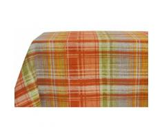 1x Centrotavola: 90 x 90 cm / Scozia arancione