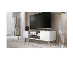 Mobile TV: Bianco opaco/Bianco lucido
