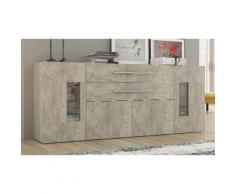 Credenza Daiquiri: 200 x 40,6 x 79,5 cm / Cemento