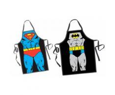 2x Grembiule Batman/Superman