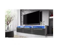 Mobile porta TV Lavello con LED - Grigio