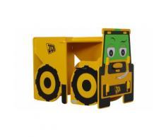 Mobili per bambini Joey JCB : Banco e sedia