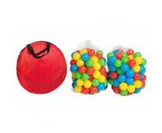 Tenda a casetta per bambini con 200 palline
